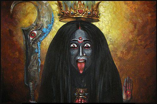 Kali, Déesse de la vie, de la mort et de la transcendance [2]   Rat Holes