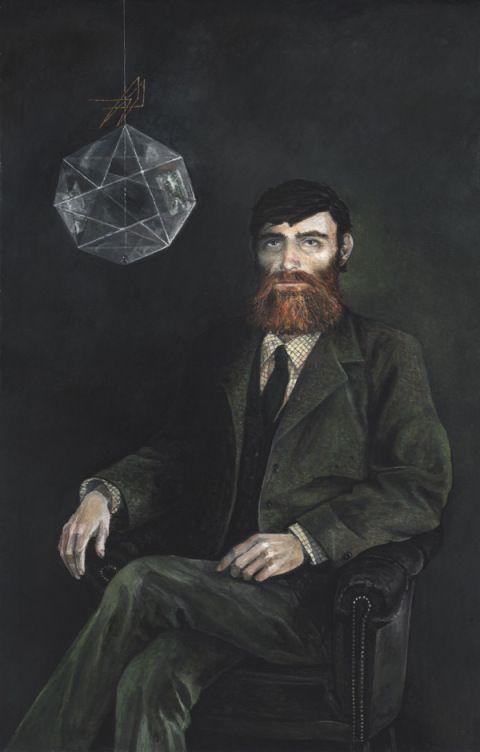 Portrait de David Myatt par Richard Moult