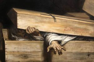 AntoineWiertz: « L'inhumation précipitée », 1854.